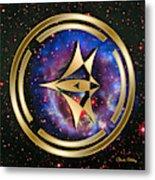 Starship Meridian Metal Print