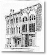 State Publishing And Parchen Building Helena Montana Metal Print