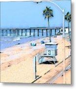 Station 3 Oceanside California Metal Print