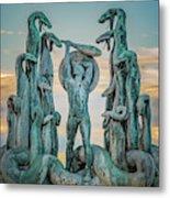 Statue Of Heracles The Hero Metal Print