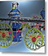 Steamer No 14 Metal Print