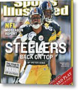 Steelers Back On Top Nfl Midseason Report Sports Illustrated Cover Metal Print