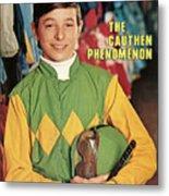 Steve Cauthen, Horse Racing Jockey Sports Illustrated Cover Metal Print