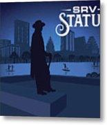 Stevie Ray Vaughan Statue Metal Print