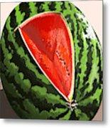 Still Life Watermelon 1 Metal Print