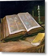Still Life With Bible - Digital Remastered Edition Metal Print