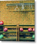 Still Life With No Glow In Dark Balls Metal Print