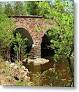 Stone Bridge At The Eastern Entrance Of The Manassas Battlefield  Metal Print