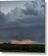 Storm Chasing West South Central Nebraska 050 Metal Print