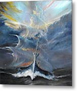 Storm Creators Beaufort Sea Metal Print
