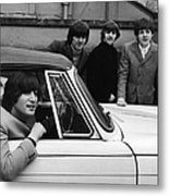 Street Legal Beatle Metal Print