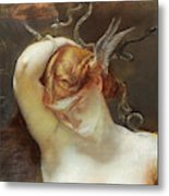 Study For The Gorgon And The Heroes Metal Print