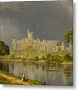 Study Of Windsor Castle Metal Print