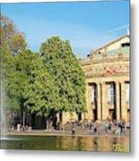 Stuttgart Opera House Metal Print