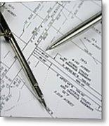 Subdivision Development Planning Metal Print