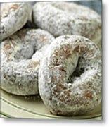 Sugar Doughnuts Metal Print