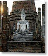 Sukhothai Buddha Metal Print