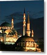 Suleymaniye Mosque Istanbul Metal Print