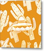 Summerbrero Metal Print