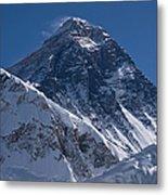 Summit Of Mt Everest8850m Great Details Metal Print