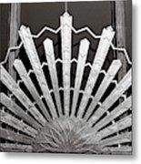 Sunrays Sunburst Art Feature Metal Print