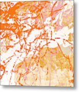 Sunrise 2- Abstract Art By Linda Woods Metal Print