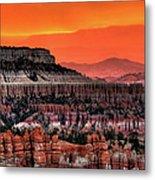 Sunrise At Bryce Canyon Metal Print