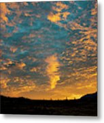 Sunrise In Beaumont,ca Metal Print