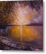 Sunrise On The Sea Metal Print