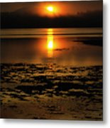 Sunrise Rathtrevor Beach 6 Metal Print