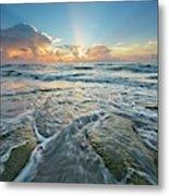 Sunrise Sunbeams Metal Print