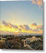 Sunrise Surf Fishing 2 Metal Print
