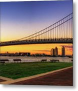Sunset By The Ben Metal Print