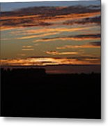 Sunset In Southern Missouri Metal Print