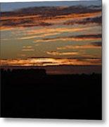 Sunset In Southern Missouri Metal Print