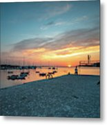 Sunset Looker Metal Print