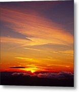 Sunset Near Taos, New Mexico, Usa Metal Print