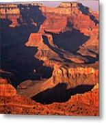Sunset Over Grand Canyon Metal Print