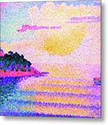 Sunset Over The Sea - Digital Remastered Edition Metal Print