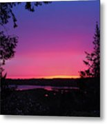 Sunset Summer Metal Print