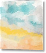 Sunshine Day- Art By Linda Woods Metal Print