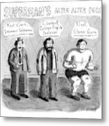 Superman's Alter Alter Egos Metal Print
