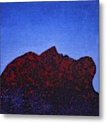 Surfacing Original Painting Metal Print