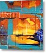 Sweet Light Of Dawn - Or - Windows To Illusion Metal Print