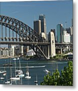 Sydney Harbour, New South Wales Metal Print