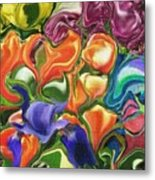 Symphony Of Color Metal Print