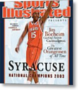 Syracuse University Carmelo Anthony, 2003 Ncaa National Sports Illustrated Cover Metal Print