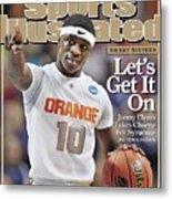 Syracuse University Jonny Flynn, 2009 Ncaa South Regional Sports Illustrated Cover Metal Print