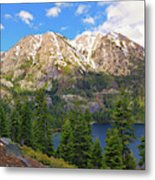 Tahoe Inspiration Point Metal Print