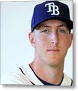 Tampa Bay Rays Photo Day Metal Print